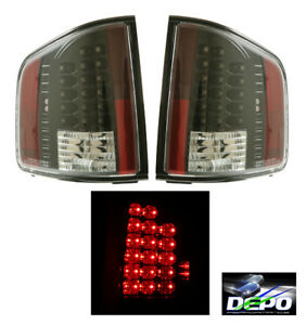 fit 94-04 GMC Sonoma LED Tail Lights 2000 01 02 03 BLK DEPO