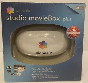 Pinnacle Studio MovieBox Plus 510-USB HD Video Editing - New/Open Box