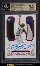 2014 Panini Flawless Greats Dual Shaquille O'Neal PATCH AUTO /15 #13 BGS 9.5