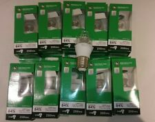 BELL 4W PRO LED ES Bulbs Candle Clear 25W OUTPUT FASTPP Cool White 4000k E27 x10