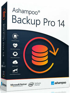 Ashampoo Backup Pro 14 Vollversion/ 1 PC/ Sichern, Retten & Wiederherstellen