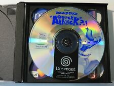 Sega Dreamcast - Donald Duck: Quack Attack - PAL - Nur Disc & Anleitung! (A)