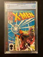 Uncanny X-Men 221 - 1st Appearance Mr. Sinister - CBCS 7.0 (Not CGC) - WHITE Pgs