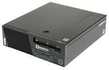 Office PC Lenovo ThinkCentre M83 SFF Intel Core i3-4130 3,40GHz Win10 Pro