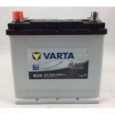 BATTERIA VARTA B24 45AH 300A(en) 12v POLO SX per fiat 500 f/l 1965-