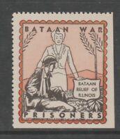 USA revenue fiscal stamp 7-18-20-24 Philippines Bataan POW mnh gum