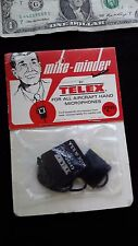 Vintage Telex Mike Minder new in package Aviation accessory