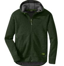 Outdoor Research Exit Hoody Sweater Men's Medium M Evergreen NEW Hoodie
