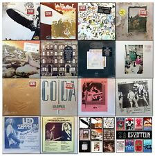 LED ZEPPELIN - 12 NEW/SEALED Vinyl LPs (70s/80s Atlantic/Swan Song) + A LOT MORE