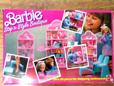 Barbie Step 'n Style Boutique Playset 1988 Unused. New. Opened Box.