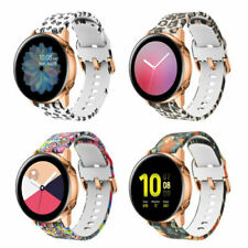 For Samsung Galaxy Watch Active 2 44mm 40mm 42m Silicone Sports Band Wrist Strap