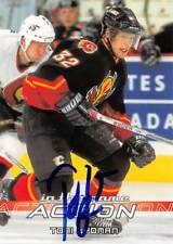 TONI LYDMAN FLAMES AUTOGRAPH AUTO 03-04 IN THE GAME ACTION #96 *51884