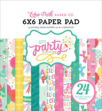Echo Park - Let's Party 6x6 Paper Pad 24 Double-sided Sheets Birthday