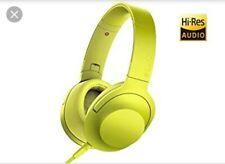 Sony h.ear Headphones - MDR-100AAP Lime Yellow- NEW, UNUSED
