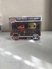 Freddy Krueger Vs Jason Voorhees Pop Funko 2 Pack Bloody Edition