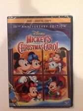Walt Disney Mini Classics - Mickeys Christmas Carol(DVD+Digital)NEW Authentic US