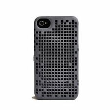 FreshFiber iPhone 4S/4 3D Double Mesh Case cover Gray