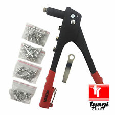 Riveter Rivet Gun 60v Pop Rivets Die Spanner 4 Sizes Nozzle Craft Leather