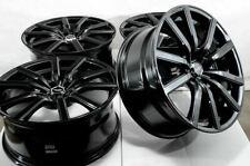 "18"" Wheels Fit Hyundai Veloster Tucson Sonata Elantra Crosstour Black Rims 5x114 (Fits: Infiniti)"