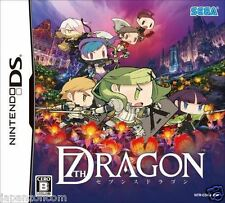 Used DS Sega  7Th Seventh Dragon NINTENDO JAPANESE IMPORT