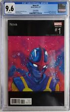 💥 NOVA #1 CGC 9.6 HIP HOP VARIANT CHANCE THE RAPPER COVER HTF 2017 LOW CENSUS💥