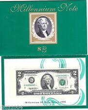 Etats UNIS AMERIQUE USA Billet 2 Dollars 1995 G CHICAGO STAR NOTE MILLENNIUM