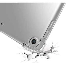 """For iPad 7th Gen 10.2"""" Hybrid Rubber Case TPU Silicone Protective Clear Cover"""