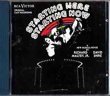 Starting Here Starting Now Cast Recording Musical Soundtrack CD (Richard Maltby)