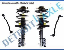 (4pc) Front Quick Install Strut & Sway Bar Link kit for 2004-2008 Nissan Maxima