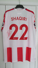Signed XHERDAN SHAQIRI Stoke City 2017-18 HOME Shirt w/ Exact Proof