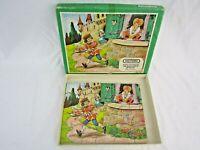 Vintage Victory Children's Wooden hand cut 20 Piece Jigsaw Puzzle N1