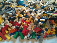 1 Lb 100% Lego Brick Pieces Huge Bulk Lot Random Clean With 1 Mini Figure