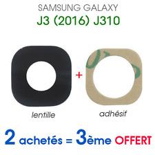Para Samsung Galaxy J3 2016 J320 Trasera Cámara CRISTAL Lente Recambio+