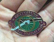 Cannon Oval Gettysburg National Military Park Hiking Medallion Shield  NEW