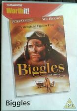 BIGGLES ADVENTURES IN TIME NEIL DICKSON PETER CUSHING WOOLWORTHS UK REG2 DVD NEW