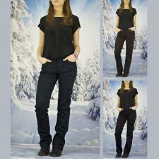 Damen Jeans Hose Warme Winterhose Thermohose Winterjeans Gefüttert Gr. W30-W38