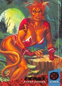 FERAL / X-Men Fleer Ultra 1994 BASE Trading Card #41