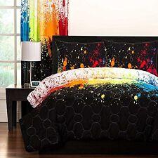 SIS Enterprises Inc Cosmic Burst Three Piece Full/Queen Comforter Set  NEW
