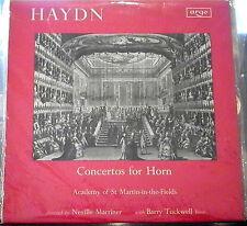 Haydn/Tuckwell/Marriner   Concertos for Horn    Argo