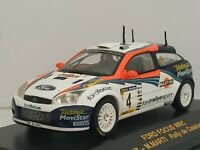 1:43 FORD FOCUS WRC SAINZ MARTI 2002 IXO RALLY CAR COCHE METAL ESCALA DIECAST