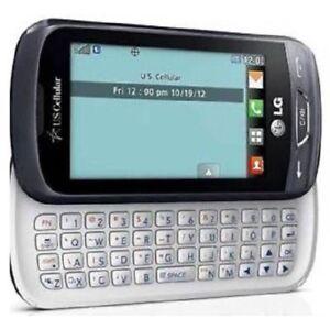 US Cellular LG Freedom UN272 - Titan Gray (U.S. Cellular) Slider Phone