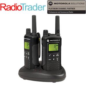 Motorola XT180 Twin Pack Radio Walkie Talkie PMR446 - Licence Free