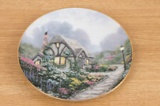 Thomas Kinkade Knowles Garden Cottages of England Series - Chandler's Cottage