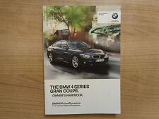 BMW serie 4 Gran Coupe Propietarios Manual/Manual De 14-17