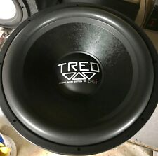 "Rebuilt Treo Engineering CSX18 18"" dual 1.4 ohm Competition subwoofer,Rare"