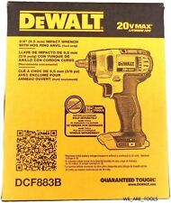 "NEW IN BOX Dewalt 20V DCF883B Cordless 3/8"" Battery Impact Wrench 20 Volt Drill"