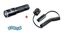 Walther TACTICAL 250 Set - Taschenlampe + Kabelschalter lang Neu OVP