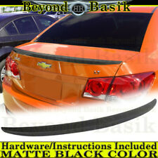 2010 2011 2012 2013 2014 2015 Chevy Cruze Matte Black Factory Style Lip Spoiler Fits More Than One Vehicle