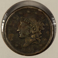 1838 1c Coronet Head Large Cent SKU-Y2600