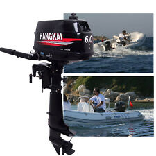 Outboard Motor Fishing Boat Engine Inflatable Water Cooling System 6HP 2Stroke f